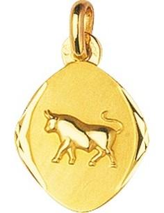 Médaille signe du zodiaque taureau