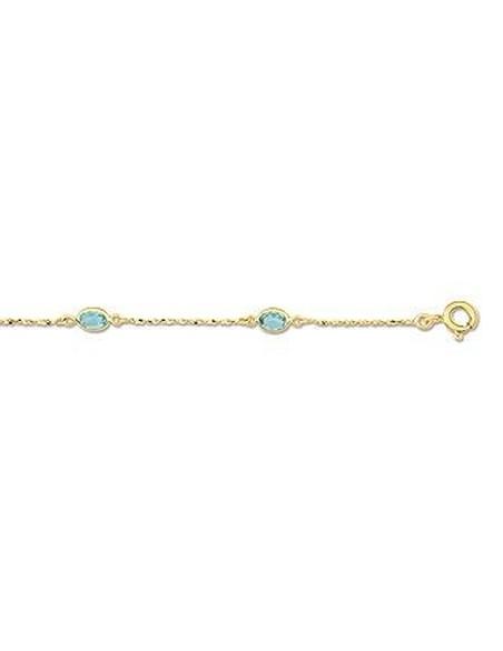 Bracelet Or et Topaze